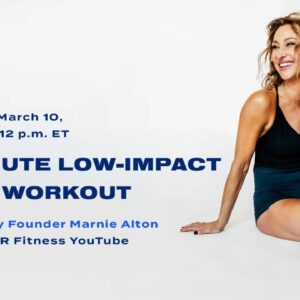 30-Minute Live Barre Workout With Low-Impact Option From M/BODY Founder Marnie Alton