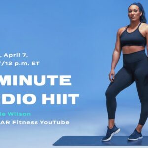 30-Minute Cardio HIIT Workout With Danyele Wilson