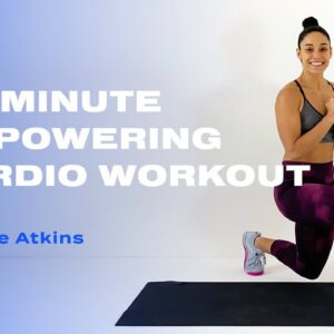30-Minute Empowering Cardio Workout With Charlee Atkins