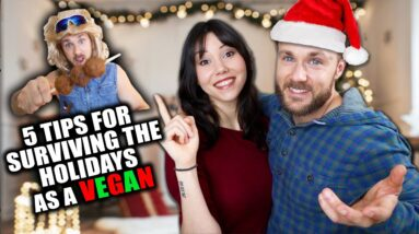 5 Tips for Surviving The Holidays As A VEGAN!🎄