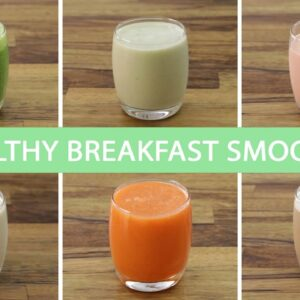 6 Easy Healthy Shakes & Smoothies