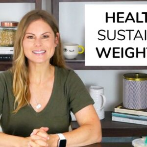 6 NATURAL WEIGHT LOSS TIPS | healthy + sustainable