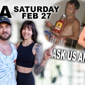 ASK US ANYTHING | Q&A HANGOUT (Vegan nutrition, fitness, calisthenics & more!)