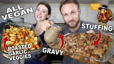 Easy Thanksgiving Side Dishes | Vegan Holiday Recipes!