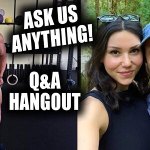 HANGOUT WITH US | LIVE Q&A 🌱💪