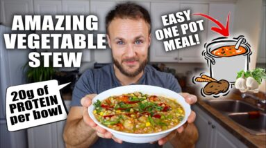 Healthy Veggie Stew Recipe 🍲 Easy One Pot Meal