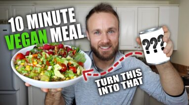 How I Make Fast & Healthy Meals | 10 Minute Meal