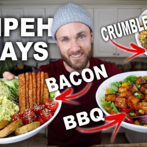 How To Make Tempeh Taste AMAZING | High Protein Meat Alternative