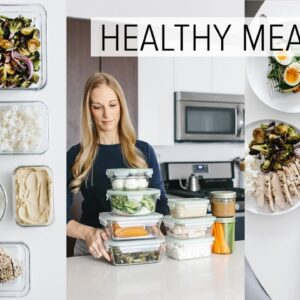 MEAL PREP | 9 ingredients for flexible, healthy recipes + PDF guide