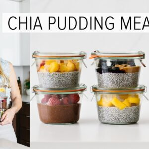 MEAL PREP CHIA PUDDING | freeze it for weeks + healthy breakfast ideas