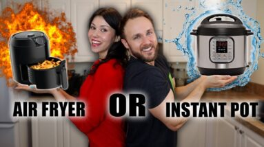 AIR FRYER OR INSTANT POT | Which one is BETTER? HEALTHIER? (Plus an amazing coconut curry recipe)