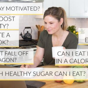 Q+A WITH DANI | immunity, motivation, emotional eating + more!