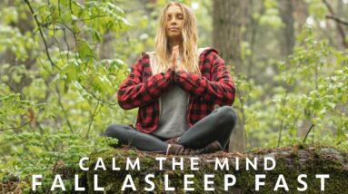 10 Min Guided Meditation For Sleep & Relaxation | Fall Asleep Fast With Soothing Rain Sounds