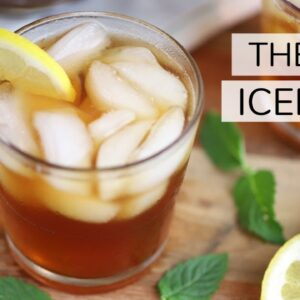 THE BEST ICED TEA | how to make cold brew iced tea