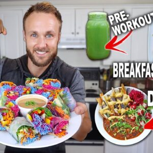 The MOST Colourful Full Day Of Eating | Tasty Vegan Meals!