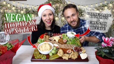 Vegan Charcuterie Board | The Ultimate Holiday Snack 🎄