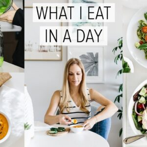 WHAT I EAT IN A DAY | vitamix edition