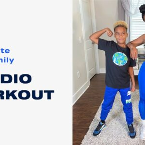 15-Minute Fun Family Cardio Workout With Deja Riley