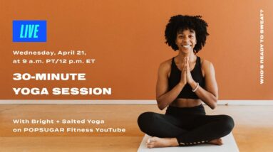 40-Minute Yoga Session With Bright + Salted Yoga
