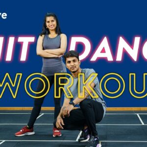 HIIT Dance Workout | Dance Fitness Workout | Quick Dance Workout | Beginners Dance Workout|Cult Live
