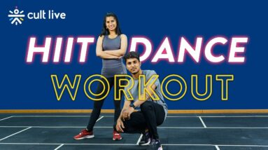 HIIT Dance Workout   Dance Fitness Workout   Quick Dance Workout   Beginners Dance Workout Cult Live