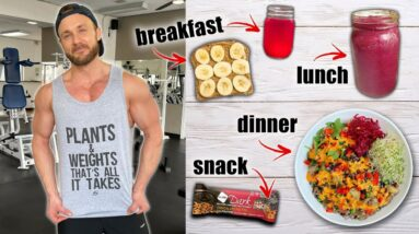 Full Day of Eating While Getting Lean | Tasty Vegan Meals