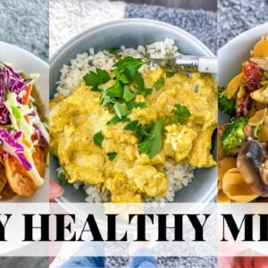 Healthy Dinner Recipes | Easy Healthy Meals For 2021