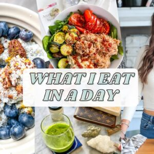 What I Eat In A Day 2021 | healthy, gluten free, easy recipes
