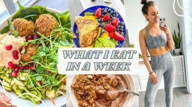 What I Eat In A Week To Stay Fit | healthy paleo recipes
