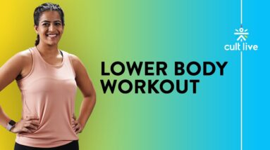10 Minute Lower Body Workout | Strength And Conditioning Workout | Home Workout | Cult Live