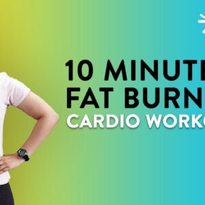10 Minute Fat Burning Cardio Workout | Cardio Workout At Home | Belly Burn Workout | Cult Fit