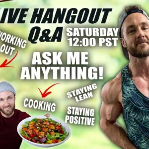 Simnett Nutrition LIVE Q&A / HANGOUT (ASK ME ANYTHING)