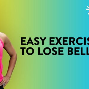 Easy Exercises To Lose Belly Fat | Fat Burning Workout | Lose Belly Fat At Home | Cult Fit