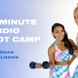 25-Minute Cardio Boot Camp With Lacey Stone and Jess Lizama