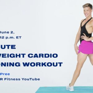 30-Minute Bodyweight Cardio And Toning Workout With Jake DuPree