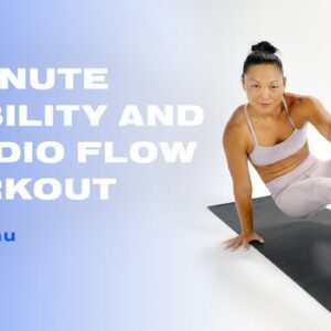 8-Minute Mobility and Cardio Flow Workout With Venus Lau