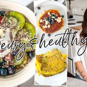 Easy Healthy Breakfast Recipes for 2021 | gluten free, quick