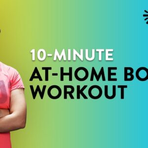 10-Minute At-Home Boxing Workout | At Home Boxing | Cardio Workout | Cardio Boxing Workout |Cult Fit