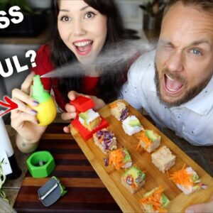 Testing our WACKY Kitchen Gadgets 😜