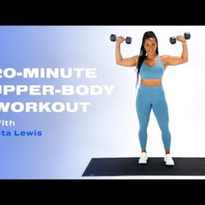20-Minute Upper-Body Strength-Training Workout Inspired by Abby Wambach