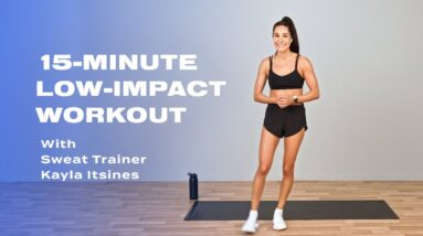 15-Minute Low-Impact Workout With Kayla Itsines