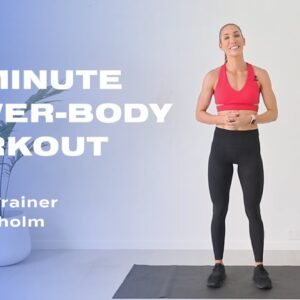 15-Minute Lower-Body Workout With Cass Olholm