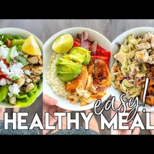 Easy Healthy Meals | gluten free, meal prep friendly, paleo recipes
