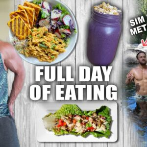 FULL DAY OF EATING | QUICK VEGAN SUMMER MEALS 🥗☀️
