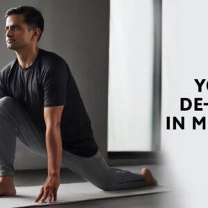 Yoga To De-stress In Minutes | Yoga for Better Sleep | Yoga Asana For Better Sleep | Cult Fit