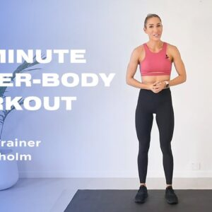 15-Minute Upper-Body Workout With Sweat Trainer Cass Olholm