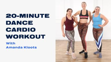 20-Minute Dance Cardio Workout With Amanda Kloots