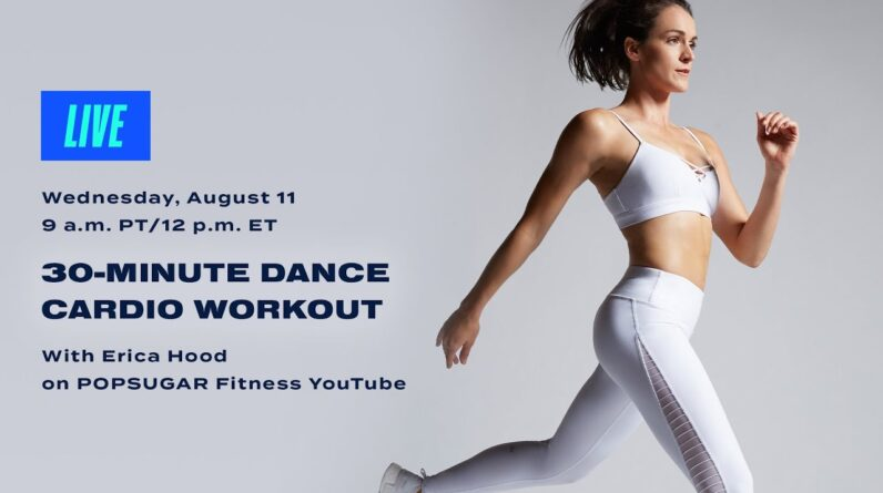 30-Minute Cardio Dance Workout With Erica Hood