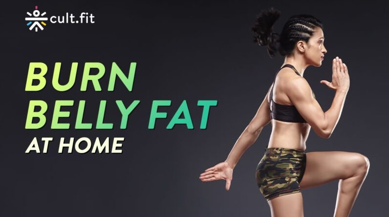 Burn Belly Fat At Home | Belly Burn Workout | Belly Burn With Shwe | Belly Burn Workout | Cult Fit
