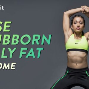 Lose Stubborn Belly Fat At Home | Belly Burn Workout | Belly Burn With Shwe | Cult Fit